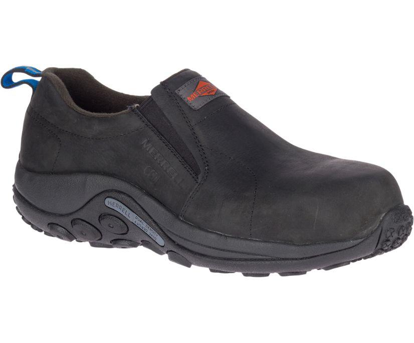 Jungle Moc Leather Comp Toe SD+ Work Shoe, Black, dynamic