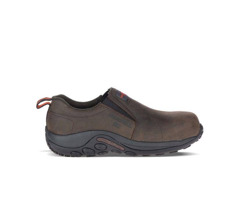 Jungle Moc Leather Comp Toe SD+ Work Shoe Wide Width, Espresso, dynamic