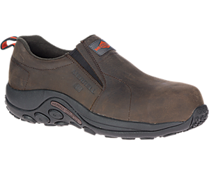 Jungle Moc Leather Comp Toe SD+ Work Shoe Wide Width, Espresso, dynamic
