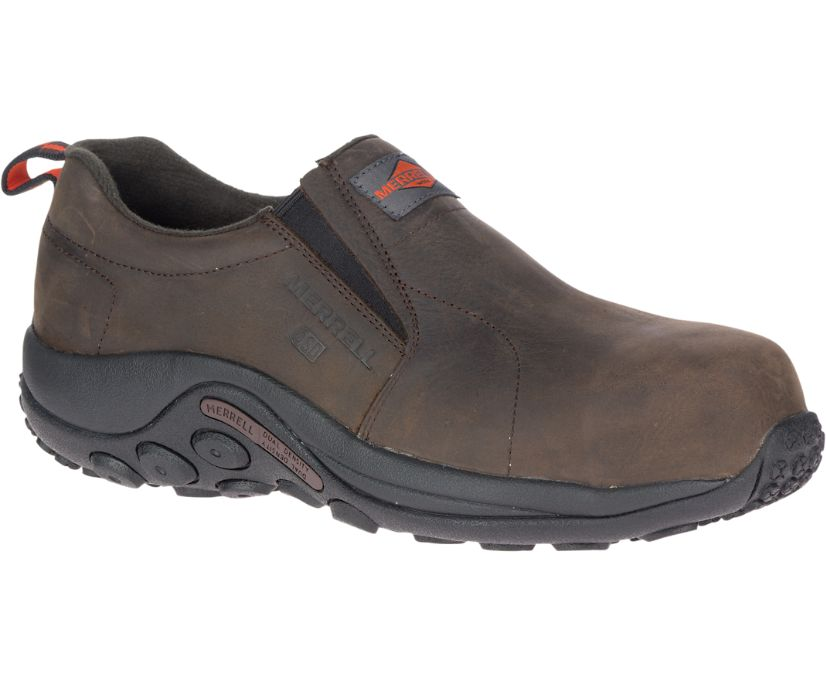 Jungle Moc Leather Comp Toe SD+ Work Shoe, Espresso, dynamic