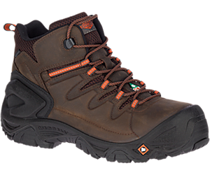 "Strongfield Leather 6"" Waterproof Comp Toe CSA Work Boot, Espresso, dynamic"