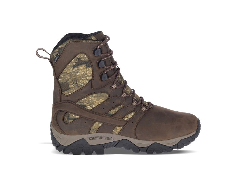 "Moab Timber Thermo 8"" Waterproof SR Work Boot, Camo, dynamic"