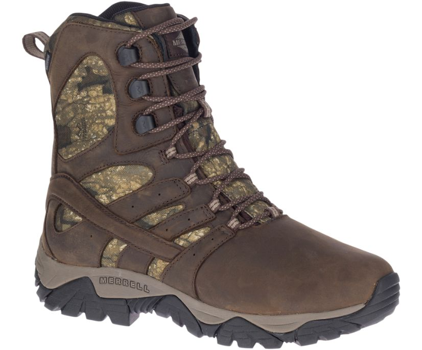 """Moab Timber Thermo 8"""" Waterproof SR Work Boot, Camo, dynamic"""