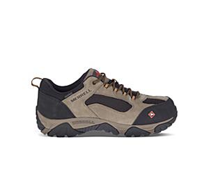 Moab Onset Waterproof Comp Toe Work Shoe, Walnut, dynamic