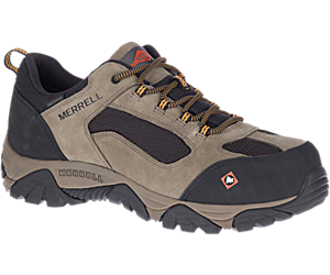 Moab Onset Waterproof Comp Toe Work Shoe, Walnut, dynamic