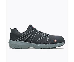 Fullbench 55 Alloy Toe Work Shoe Wide Width, Black, dynamic