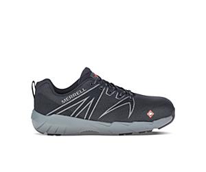 Fullbench 55 Alloy Toe Work Shoe, Black, dynamic