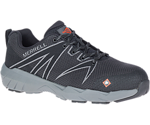 Fullbench 55 Alloy Toe Work Shoe Wide Width, Black, dynamic