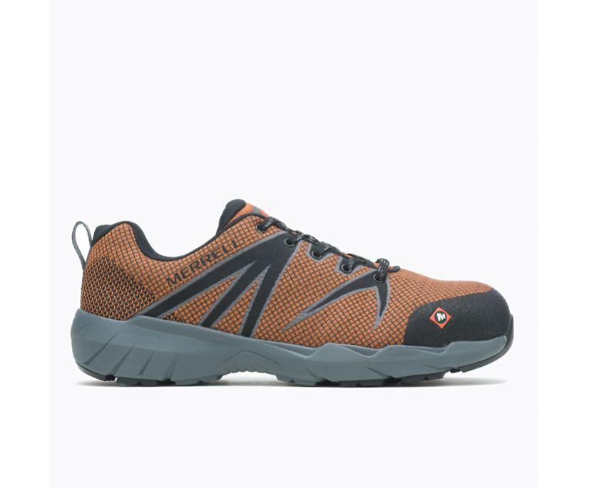 Fullbench 55 Alloy Toe Work Shoe Wide Width, Orange, dynamic