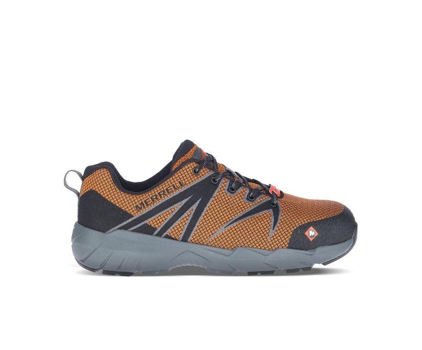 Fullbench 55 Alloy Toe Work Shoe, Orange, dynamic
