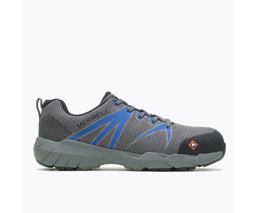 Fullbench 55 Alloy Toe Work Shoe Wide Width, Blue, dynamic