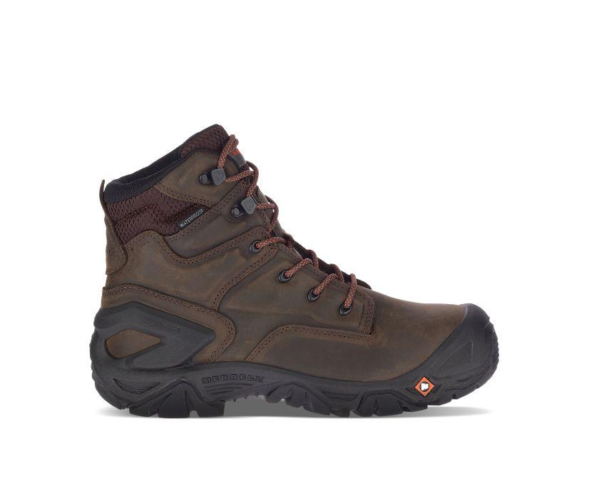 "Strongfield Leather X 7""  Waterproof Comp Toe Work Boot, Espresso, dynamic"