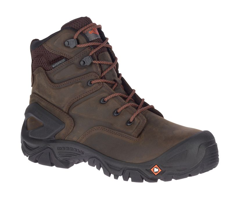 "Strongfield Leather X 7""  Waterproof Comp Toe Work Boot, Espresso, dynamic"