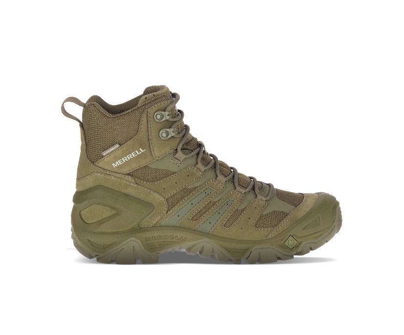 """Strongfield Tactical 6"""" Waterproof Boot, Sage Green, dynamic"""