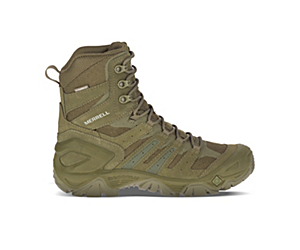 """Strongfield Tactical 8"""" Waterproof Boot, Sage Green, dynamic"""