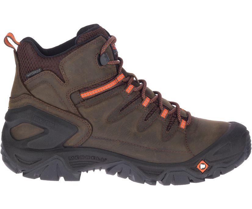 "Strongfield Leather 6"" Waterproof Slip-Resistant, Espresso, dynamic"