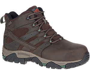 Moab Vertex Mid Leather Waterproof Comp Toe Work Boot, Espresso, dynamic