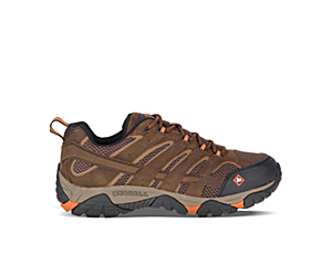 Moab Vertex Vent SR Work Shoe Wide Width, Clay, dynamic