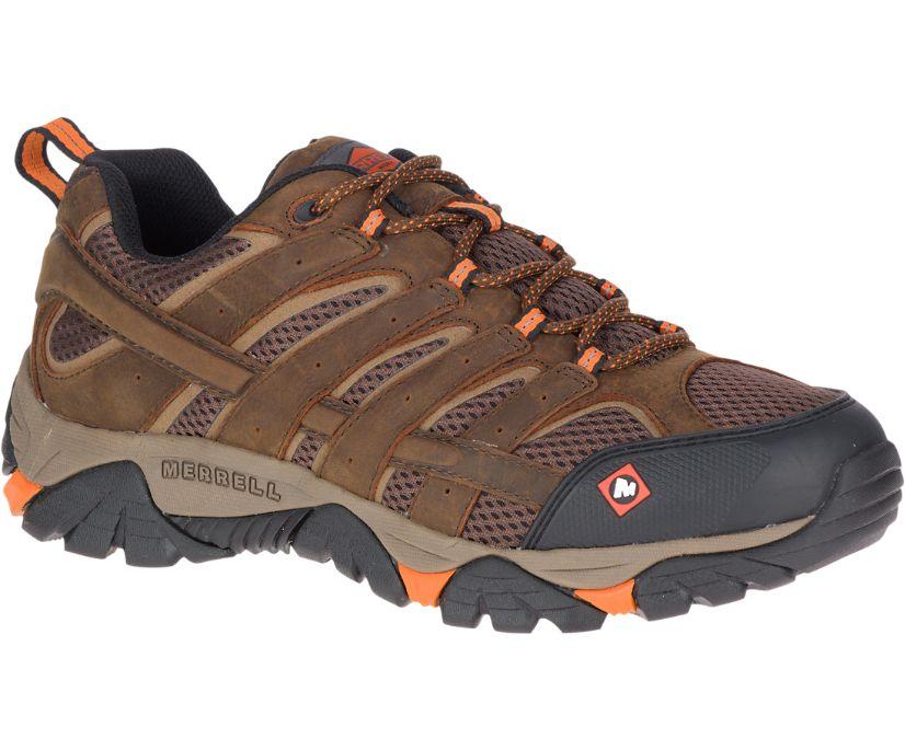 Moab Vertex Vent SR Work Shoe, Clay, dynamic