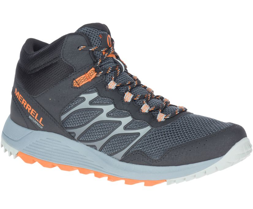 Wildwood Mid Waterproof, Black, dynamic