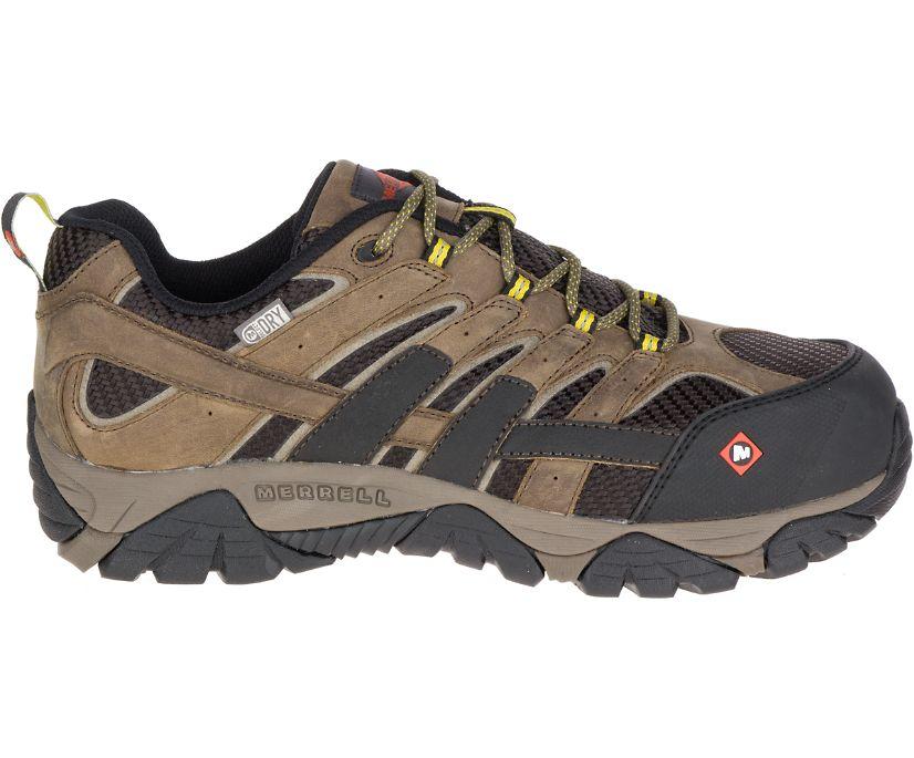 Moab 2 Vent Waterproof Comp Toe Work Shoe Wide Width, Boulder, dynamic