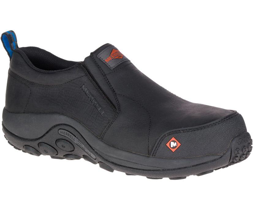 Jungle Moc Comp Toe Work Shoe, Black, dynamic