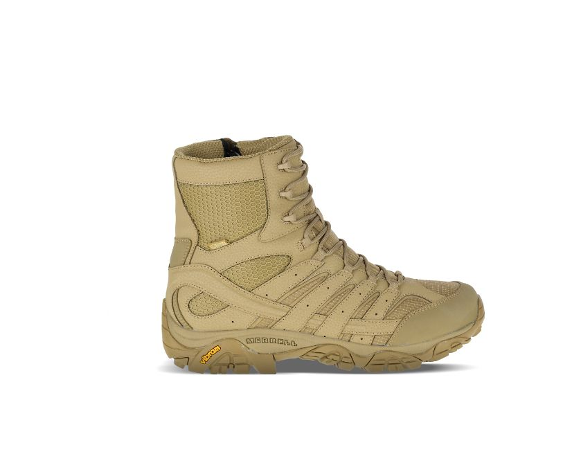 """Moab 2 8"""" Tactical Waterproof Boot, Coyote, dynamic"""