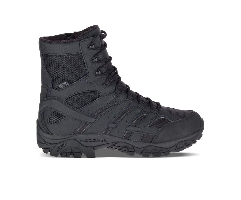 "Moab 2 8"" Tactical Waterproof Boot, Black, dynamic"