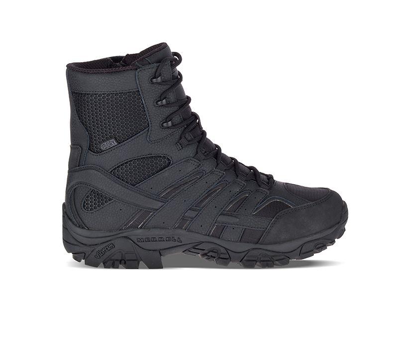 "Moab 2 8"" Tactical Waterproof Boot, Black, dynamic"