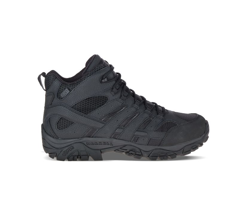 Moab 2 Mid Tactical Waterproof Boot, Black, dynamic