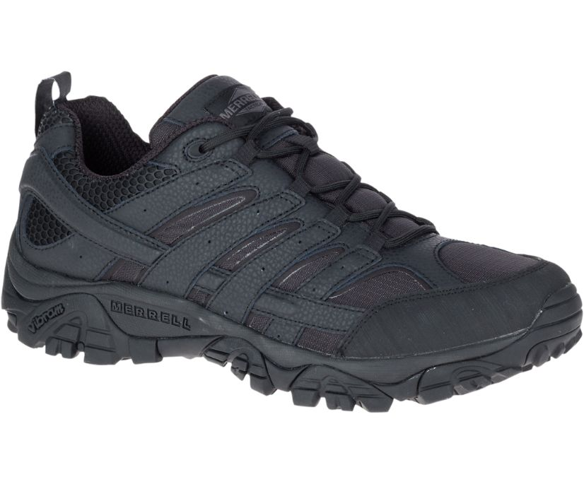 Moab 2 Tactical Shoe Wide Width, Black, dynamic