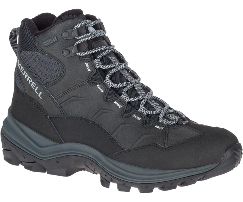 Thermo Chill Mid Waterproof Wide Width, Black, dynamic