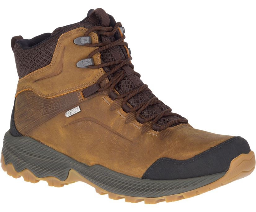 Forestbound Mid Waterproof, Merrell Tan, dynamic