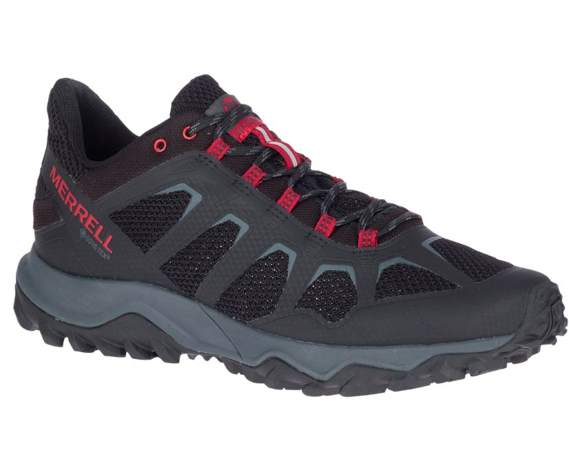 Fiery Gore-Tex®, Black/Cherry, dynamic