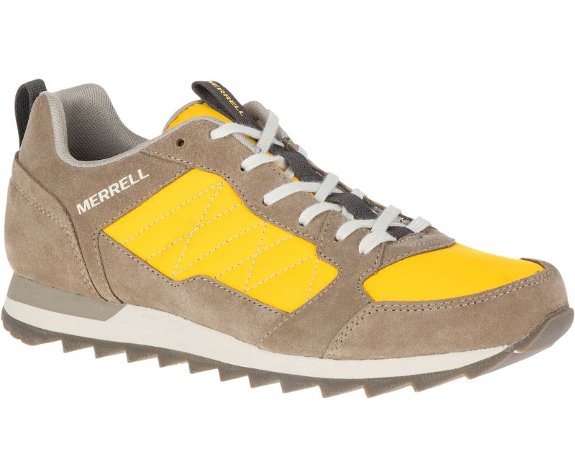 Alpine Sneaker, Old Gold, dynamic