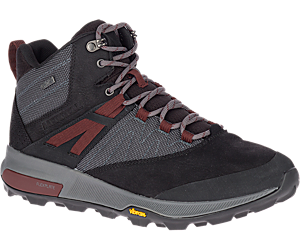 Zion Mid Waterproof, Black, dynamic