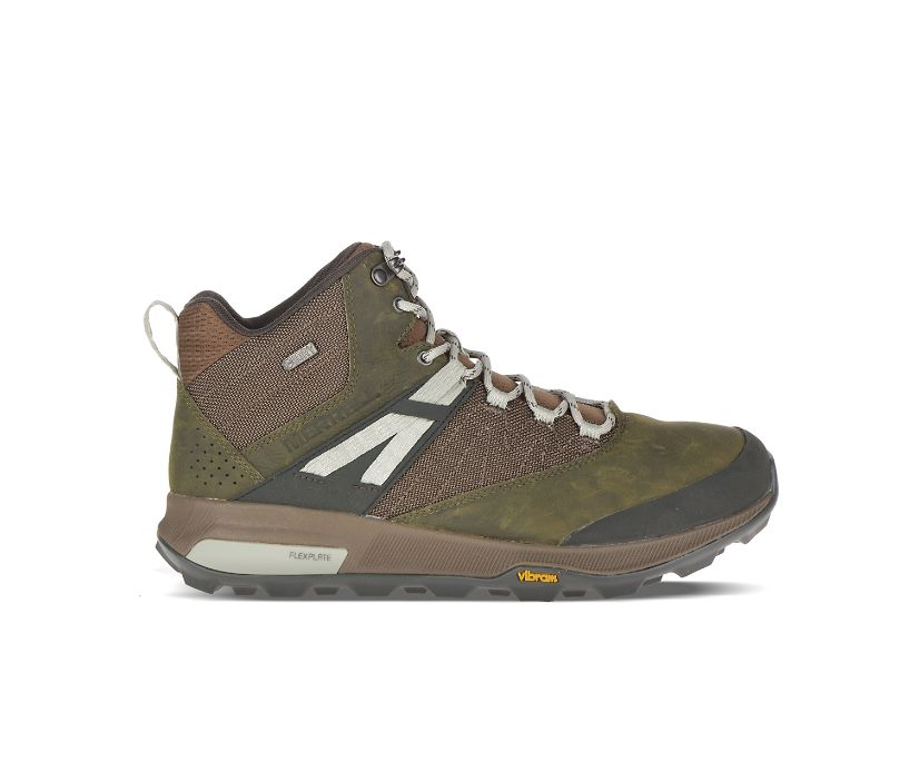 Zion Mid Waterproof, Dark Olive, dynamic