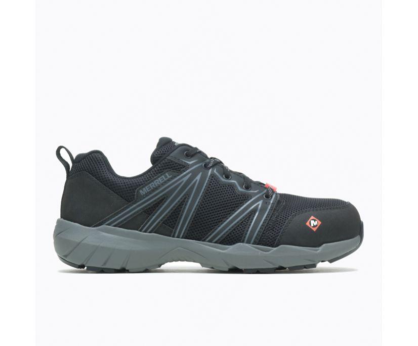 Fullbench Superlite Alloy Toe Work Shoe Wide Width, Black, dynamic