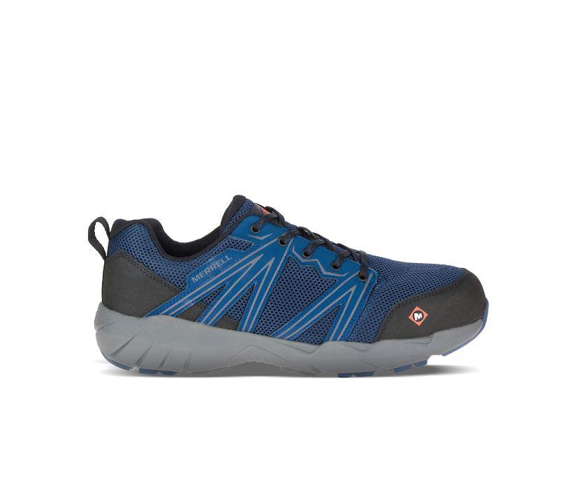 Fullbench Superlite Alloy Toe Work Shoe Wide Width, Blue Wing, dynamic