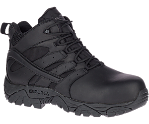 Moab 2 Mid Tactical Response Waterproof Comp Toe Work Boot, Black, dynamic