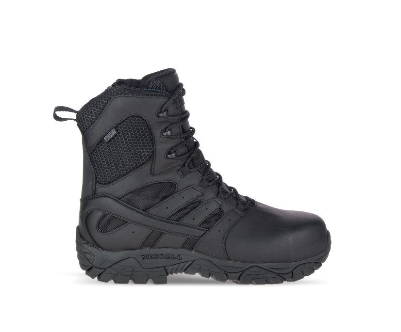 "Moab 2 8"" Tactical Response Waterproof Comp Toe Work Boot, Black, dynamic"