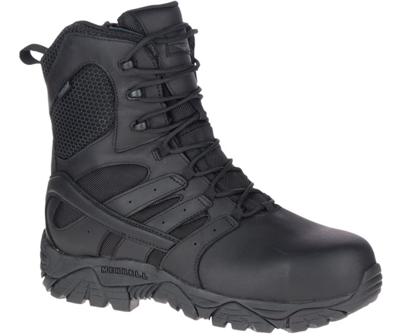 "Moab 2 8"" Tactical Response Waterproof Comp Toe Work Boot, Black, dynamic"