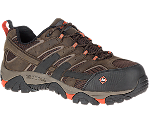 Moab 2 Vapor Comp Toe Work Shoe, Espresso, dynamic