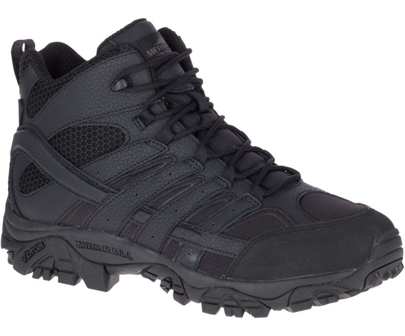 Moab 2 Mid Tactical Boot, Black, dynamic