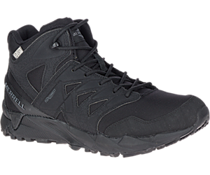 Agility Peak Mid Tactical Waterproof Boot, Black, dynamic