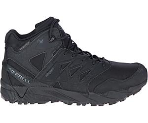 Agility Peak Mid Tactical Waterproof Boot, Black, dynamic