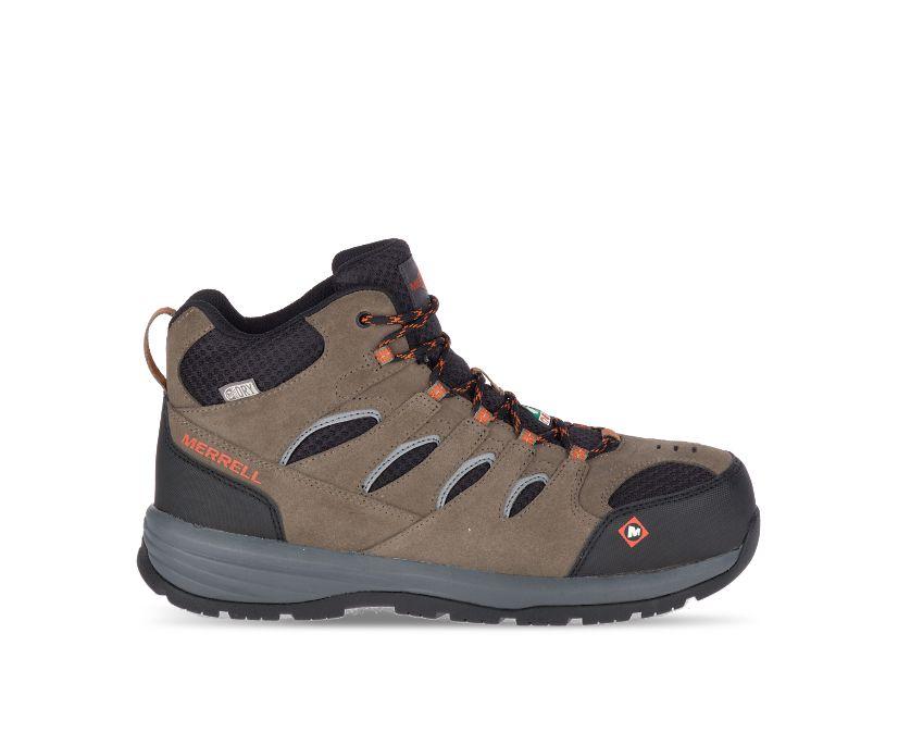 Windoc Mid Waterproof CSA Steel Toe Work Boot, Boulder, dynamic
