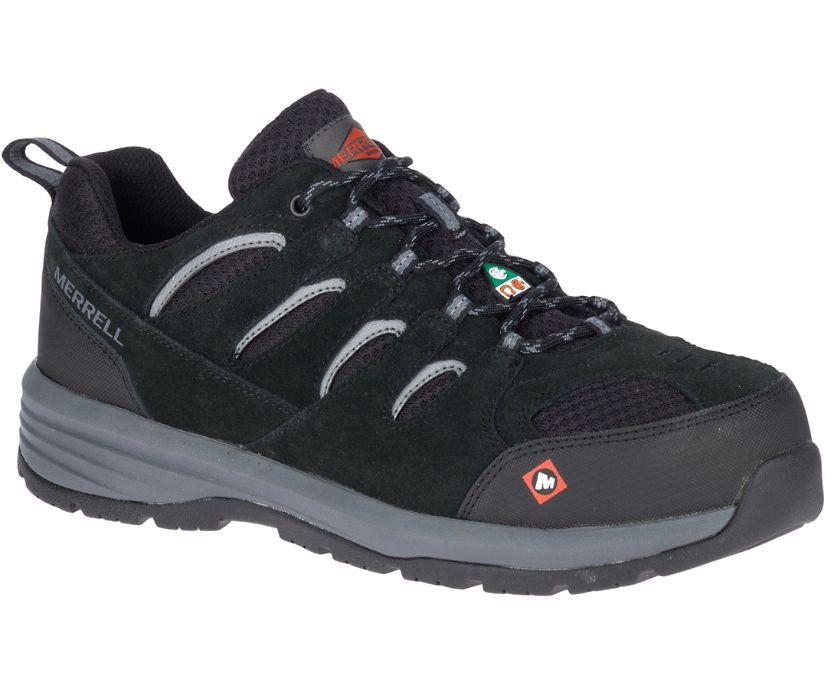 Windoc CSA Steel Toe Work Shoe, Black, dynamic