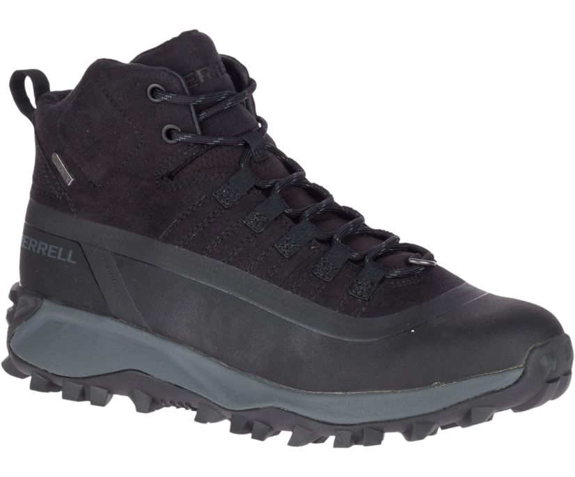 Thermo Snowdrift Mid Shell Waterproof, Black, dynamic