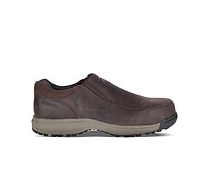 Sutton Moc Steel Toe Work Shoe, Espresso, dynamic